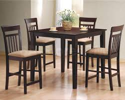 Five Piece Dining Room Sets Five Piece Counter Height Dining Table And Stool Set Corner