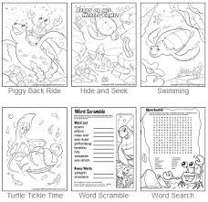 Small Picture turtle activities for preschoolers Download FREE Eartha the Sea