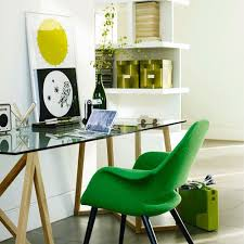 gallery of marvelous alight home office decoration design with curved white wooden computer table also chic stylish swivel chairs and lights in surprising office decoration design home
