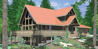A frame House Plans With Steep Rooflines Amazing A Frame House Plan  Central Oregon House Plan  bedrooms