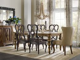Transitional Dining Room Tables Dining Gorgeous Dining Room Gold Chandelier Floral Wallpaper