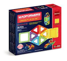 Купить <b>Магнитный конструктор MAGFORMERS</b> Window Plus Set ...