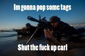 carl military meme | laststandonzombieisland via Relatably.com