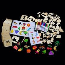 120 шт., <b>набор трафаретов для</b> рисования, для детей - купить ...