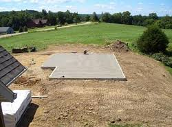 Slab Foundation Home Plans   House Plans and Morephoto of recently constructed slab foundation  ViewthisPlan