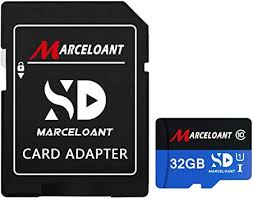 TF Card 32GB, Marceloant Memory Cards Class 10 ... - Amazon.com