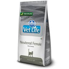116 отзывов на <b>Сухой корм Farmina Vet</b> Life Neutered Female ...