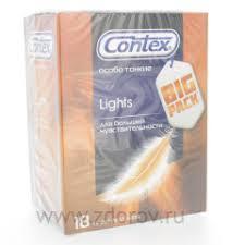 <b>Презервативы Contex</b> №18 <b>Lights</b> (<b>особо</b> тонкие)