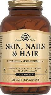 <b>Solgar</b> Таблетки для <b>кожи</b>, ногтей и <b>волос</b>, таблетки, 120 шт ...