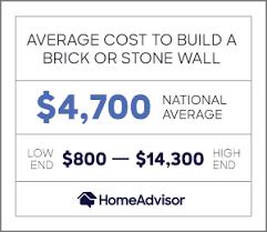 2020 2020 Brick & <b>Stone Wall</b> Costs: Per <b>Square</b> or Linear Foot ...