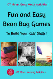 Simple Bean Bag Games and Activities - OT <b>Mom Learning</b> Activities
