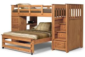 wood twin over full bunk amazing twin bunk bed