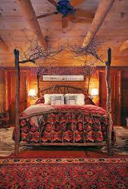 Rustic Cabin Bedroom Decorating 17 Best Images About Lodge Style Bedrooms On Pinterest