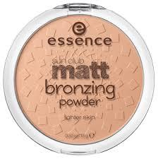 <b>Essence</b> Бронзирующая пудра <b>Sun</b> Club Matt <b>Bronzing Powder</b> ...