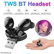 XG-17 TWS <b>Bluetooth 5.0 Headset Mini</b> Wireless Stereo ...