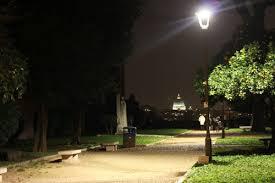 Resultado de imagen de PARQUES DE ROMA DE NOCHE