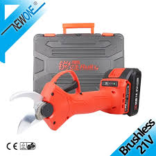 <b>21V Brushless</b> Electric <b>Pruner</b> and Rechargeable Electric Garden ...