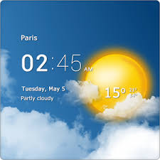 Image result for aplikasi cuaca android