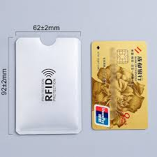 <b>1pc New Aluminum Anti</b> Rfid Reader Blocking Bank Credit Card ...