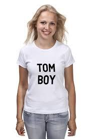 Футболка <b>классическая Printio TOM</b> BOY #1930491