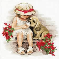 Resultado de imagen de imagen gratis de niña con un perro