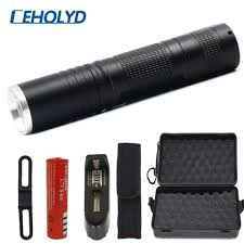 <b>8000 Lumens</b> XM L T6 Power bank <b>LED Flashlight torch</b> 3 modes ...