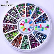 Buy Fashlady™ 400Pcs 2Mm Square <b>Candy Fluorescent Colors</b> ...