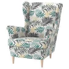 IKEA STRANDMON Gillhov <b>Multicolor</b> Wing <b>chair</b> в 2020 г. | Идеи ...