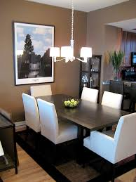 dining table parson chairs interior: parsons chairs taupe dining room with taupe walls espresso dining table crystal chandelier and crate amp barrel dining chairs