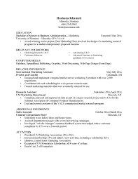 emphasizing skills resume