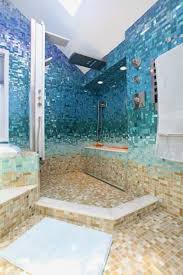 blue bathroom tile ideas:  small blue bathroom tiles ideas and pictures