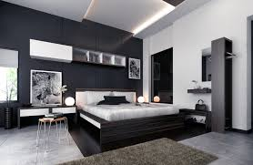 bedroom plush black and white bedroom decor with mdf furniture set and round desk lamps black and white bedroom decor for fantastic modern design black bedroom black furniture sets