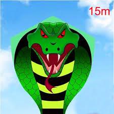 Купить Оптом High Quality Large 15m Snake Kite Reel Kids Kite Ing ...