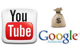 Hasil gambar untuk youtube adsense