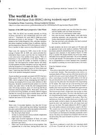 (PDF) <b>The</b> British Sub-Aqua Club (BSAC) <b>diving</b> incidents report ...