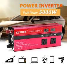 <b>Inverter</b> 12V/24V 220V <b>5000W Peak Power Inverter</b> Convertor ...