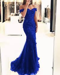 <b>Elegant</b> Pearl <b>Beaded Lace</b> Mermaid Evening Dresses Off The ...