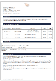 bcom resume format freshers bcom fresher resume sample doc freshers resume samples
