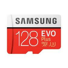 <b>Original Samsung EVO</b> Plus UHS-3 128GB Micro SDXC <b>Memory</b> Card