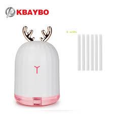 <b>KBAYBO 220ML USB</b> Humidifier Ultrasonic Air <b>Diffuser</b> 6 units 8mm ...