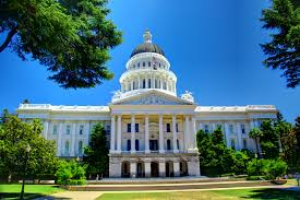 Image result for The California State Capitol in Sacramento. Photo via Wikimedia Commons
