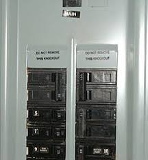 distribution board illustration of breaker numbering in a north american type panelboard some labels are missing and some are additional the numbers on the toggles indicate