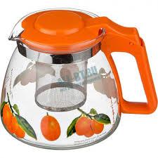 <b>Чайник заварочный Agness</b> 885-007 оранжевый купить в ...