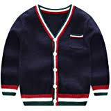XIAOHAWANG Baby Boys Cardigan Button up ... - Amazon.com
