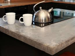 Granite Kitchen Counter Top How To Make A Concrete Countertop How Tos Diy