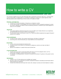 how to write a good cv co how to write a good cv
