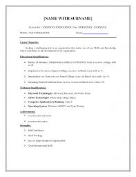 simple job resume sample templates experience resumes resume examples the best simple resume templates for job seekers pertaining to ucwords