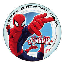 <b>Spiderman</b> Birthday Party Cake Toppers Cake Supplies for sale | eBay