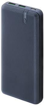 <b>Внешний аккумулятор Interstep</b> Power Delivery, 20000 мАч, Blue