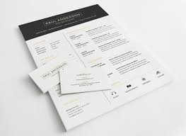 resume template on behance cv self marketing resume template on behance